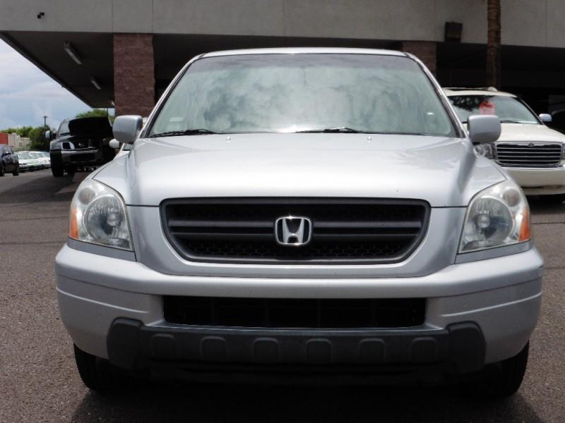 2004 Honda Pilot 4WD EX Auto wLeather Silver Gray 214000 miles Stock 597858 VIN 2HKYF18594