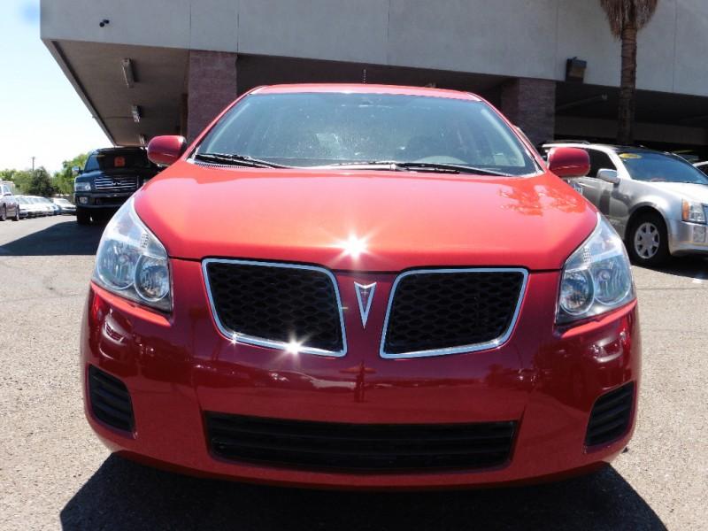 2010 Pontiac Vibe 4dr HB Sport Red Black 119000 miles Stock 415019 VIN 5Y2SP6E88AZ415019