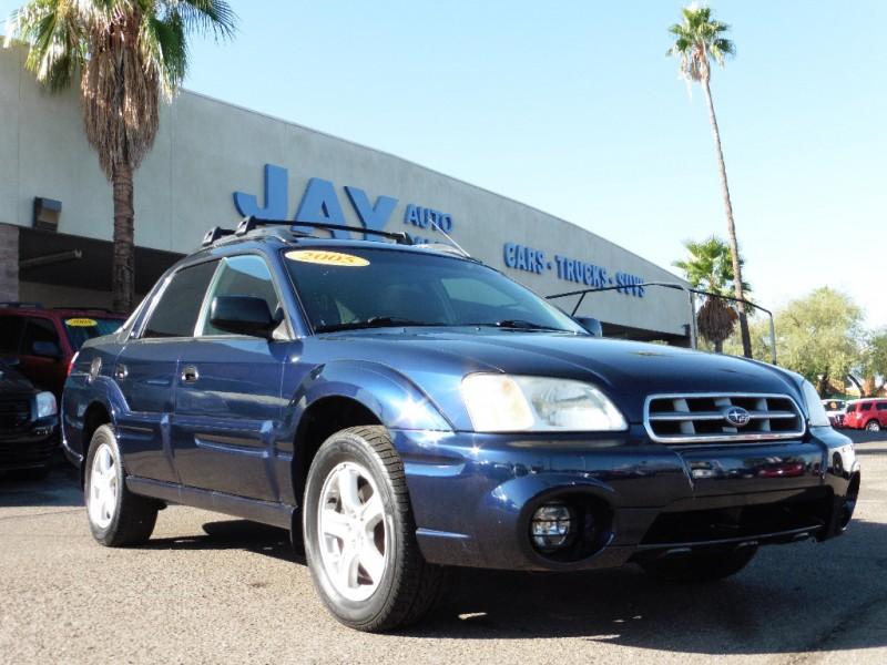 2005 Subaru Baja Natl 4dr Sport Auto Blue Gray 110000 miles Stock 102316 VIN 4S4BT62C35