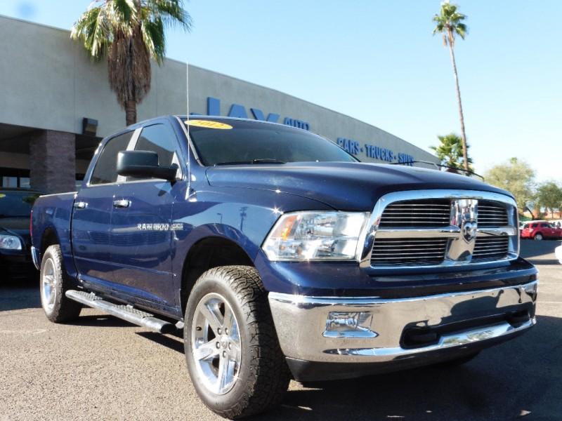 2012 RAM 1500 4X4 Crew Cab Big Horn 57L Blue Gray 47000 miles Stock 257833 VIN 1C6RD7LT0CS