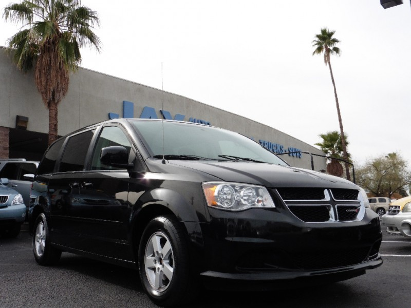 2013 Dodge Grand Caravan 4dr Wgn SXT Black Black 59000 miles Stock 580671 VIN 2C4RDGCG6DR
