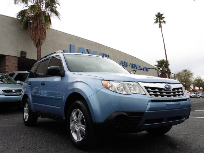 2011 Subaru Forester 4dr Auto 25X wAlloy Wheel Valu Blue Tan 117000 miles Stock 760192 VIN