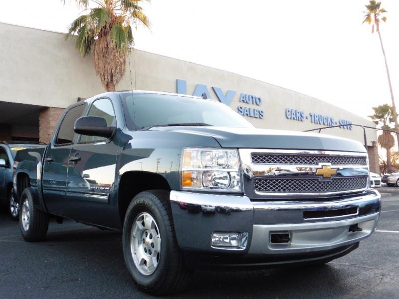 2012 Chevrolet Silverado 1500 4X4 Crew Cab LT Z71 Teal Gray 37000 miles Stock 228375 VIN