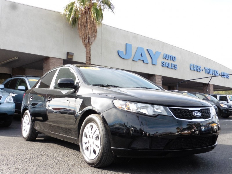 2013 Kia Forte 4dr Sdn Man LX Black Tan 40000 miles Stock 719776 VIN KNAFT4A27D5719776