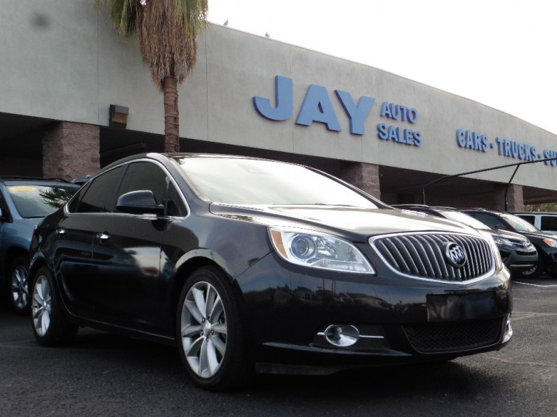 2014 Buick Verano 4dr Sdn Leather Group Brown Tan 61000 miles Stock 204908 VIN 1G4PS5SK7E42