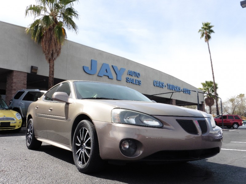 2007 Pontiac Grand Prix 4dr Sdn Brown Gray 70000 miles Stock 192408 VIN 2G2WP552271192408