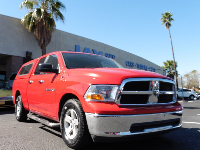 2011 RAM 1500 Quad Cab SLT Red Gray 108000 miles Stock 702317 VIN 1D7RB1GPXBS702317