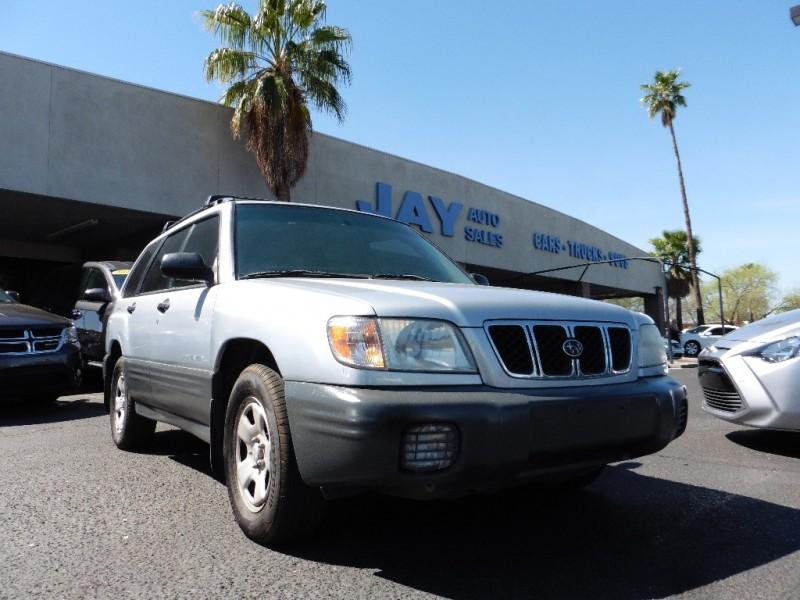 2002 Subaru Forester 4dr L Auto Silver Gray 129000 miles Stock 723384 VIN JF1SF63532H723384