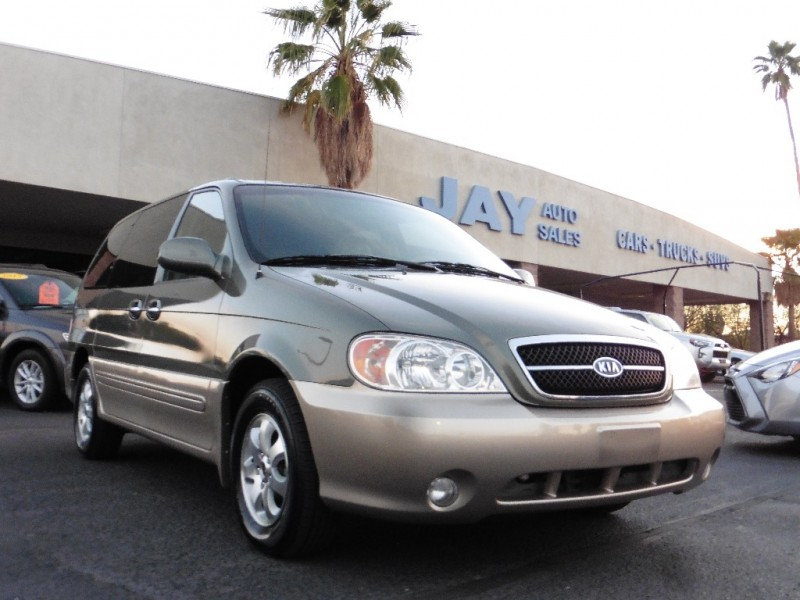 2004 Kia Sedona 4dr Auto EX Green Tan 71000 miles Stock 587994 VIN KNDUP131846587994