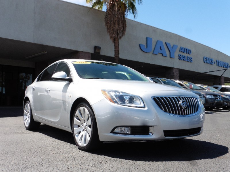 2011 Buick Regal 4dr Sdn CXL Turbo TO5 Russelshe Silver Gray 72000 miles Stock 043090 VIN
