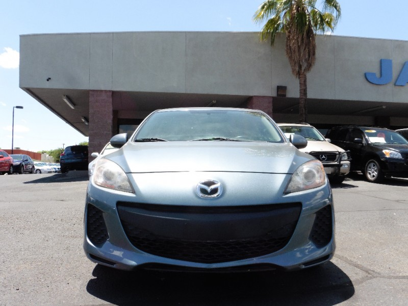 2012 Mazda Mazda3 4dr Sdn Auto i Touring Teal Black 115000 miles Stock 506210 VIN JM1BL1VG5