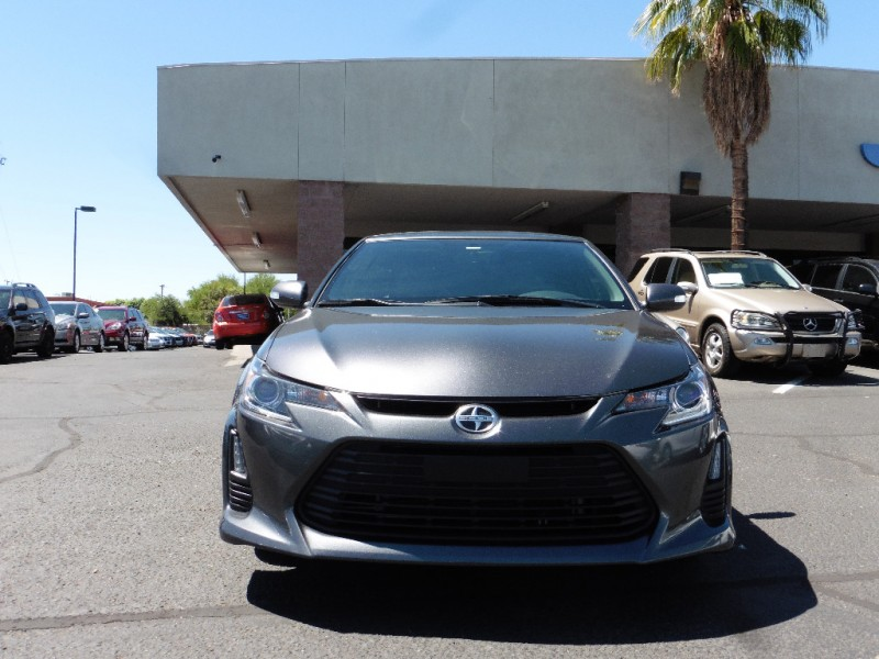 2014 Scion tC 2dr HB Auto Monogram Natl Gray Black 48000 miles Stock 085939 VIN JTKJF5C73
