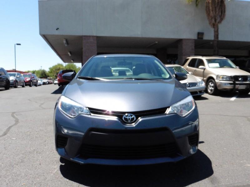2014 Toyota Corolla 4dr Sdn CVT LE Natl Teal Gray 36000 miles Stock 103991 VIN 5YFBURHEXE