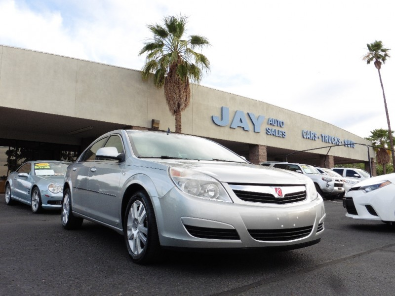 2008 Saturn Aura 4dr Sdn XE Silver Gray 81000 miles Stock 237932 VIN 1G8ZS57N08F237932