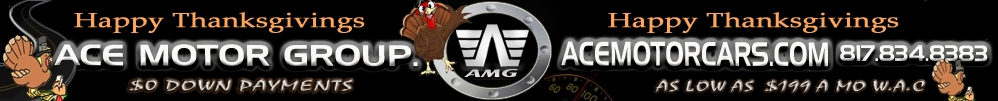 ///AMG    |   Ace Motor Group LLc.. (817) 834-8383
