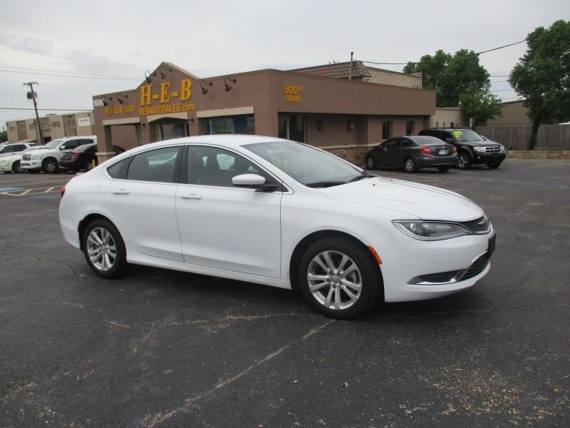 Chrysler 200  500.00 total down 2015