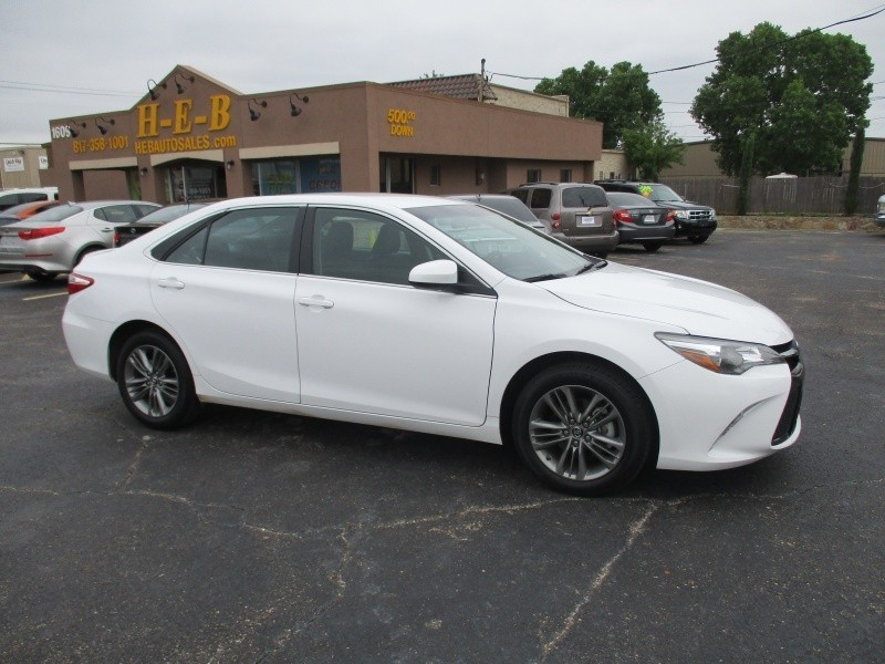 Toyota Camry 500.00 total down all credit 2016