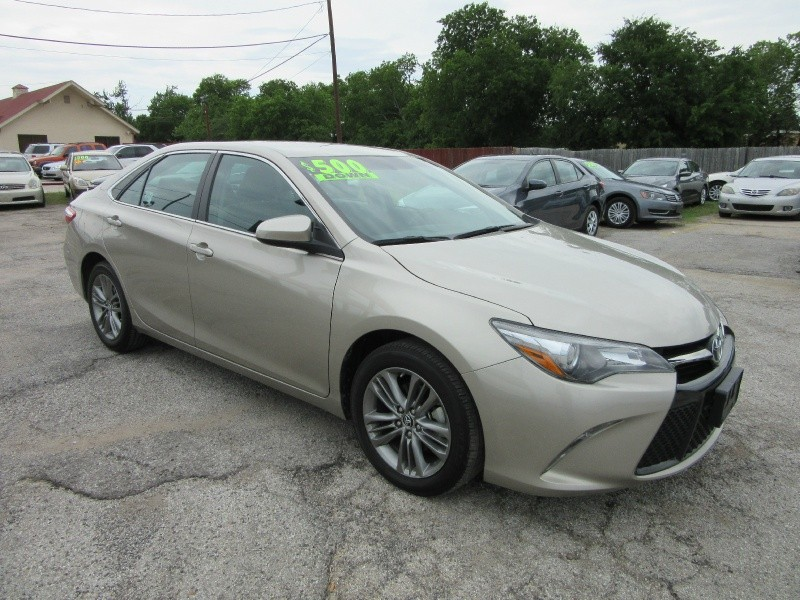 Toyota Camry 500.00 total down all credit 2015