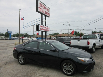 Toyota Camry 500.00 total down 2015