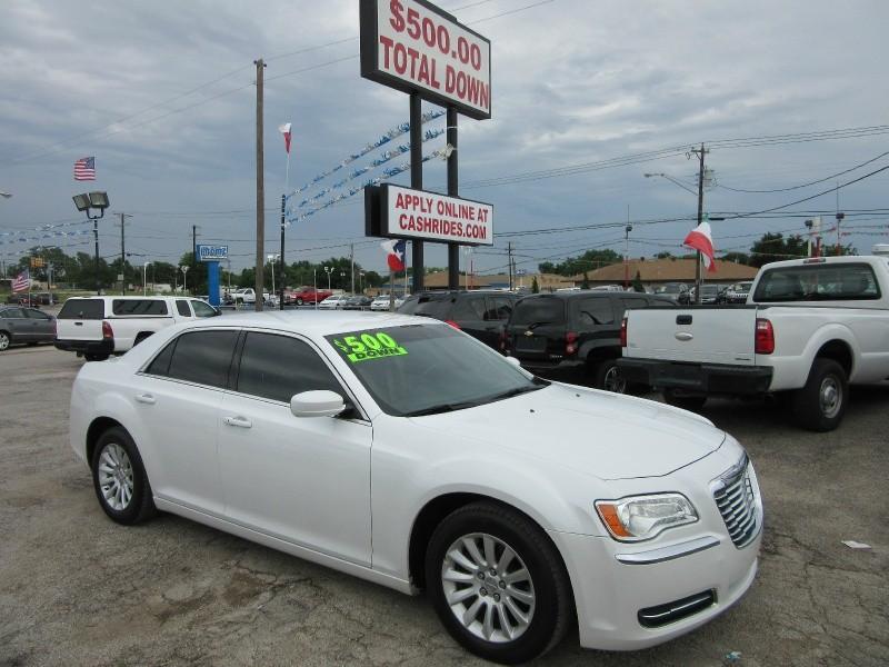 Chrysler 300 500.00 total down 2013