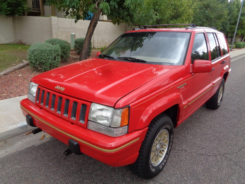 used 1995 jeep grand cherokee limited for sale cargurus. Black Bedroom Furniture Sets. Home Design Ideas