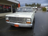 Dodge D-150 Sweptline Pickup 1983