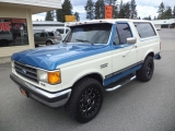 Ford Bronco 4WD XLT 1990