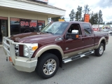 Ford Super Duty F-350 SRW King Ranch 4WD Shortbed 2011
