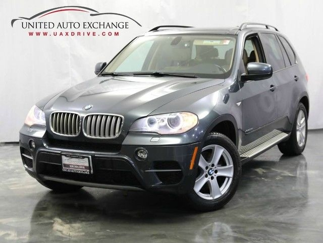 2012 bmw x5 35d 3.0l 6-cyl diesel engine awd xdrive sunroof parking aid with rear view camer cars - addison, il at geebo