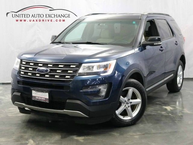 2016 ford explorer xlt 4wd 3.5l v6 engine push start bluetooth rear view ca cars - addison, il at geebo