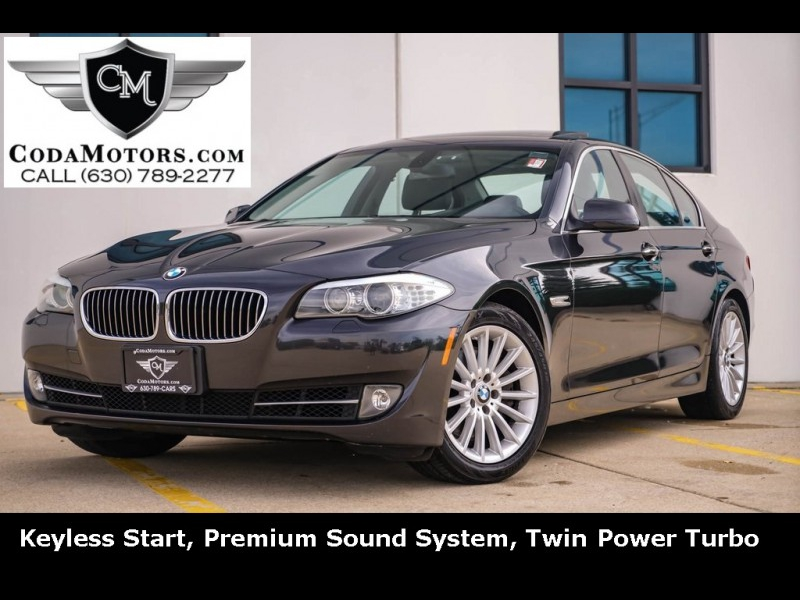 2011 bmw 5 series 535i cars - willowbrook, il at geebo