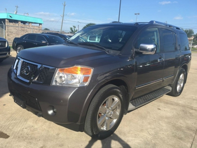 Nissan armada at tire rack for Lone star motors inventory