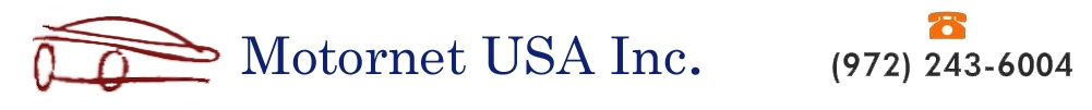 MOTORNET USA INC. (972) 243-6004