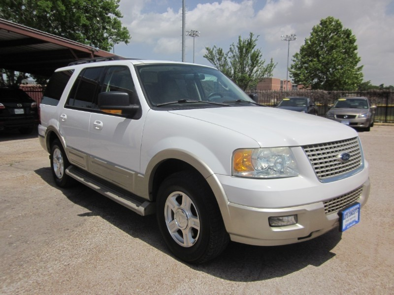 2006 Ford Expedition Eddie Bauer White Tan 105368 miles Stock 7144 VIN 1FMPU17566LA95130