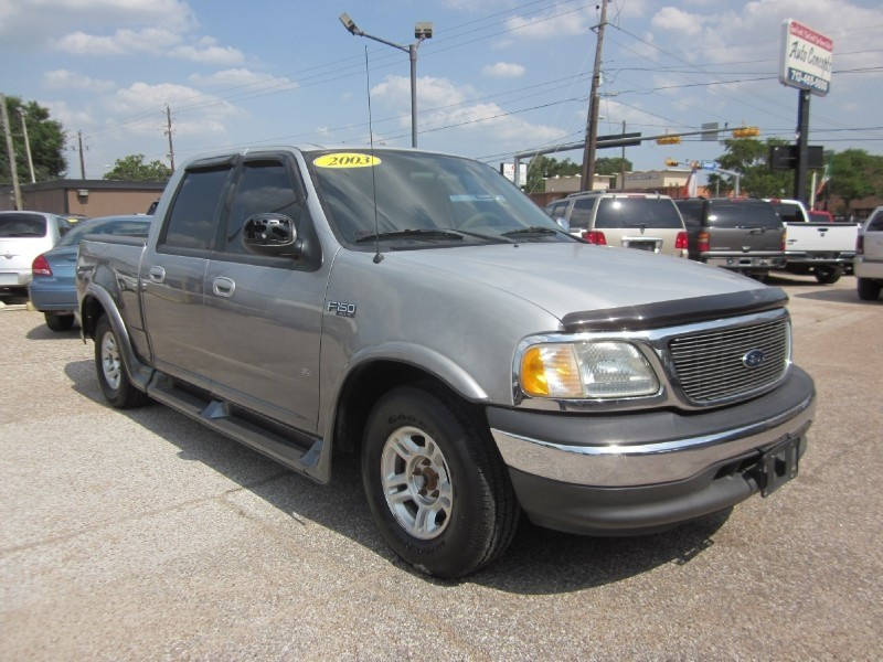 2003 Ford F-150 SuperCrew 139 Silver Gray 143414 miles Stock R7110 VIN 1FTRW07643KA94716