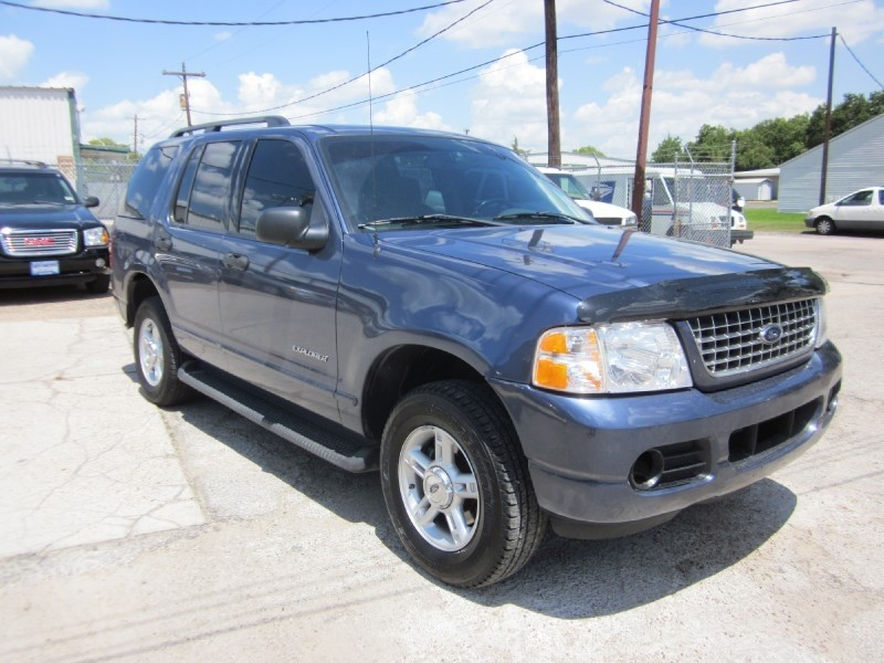 2004 Ford Explorer 4dr 114 Blue Gray 110043 miles Stock 7210 VIN 1FMZU63W34ZB24453