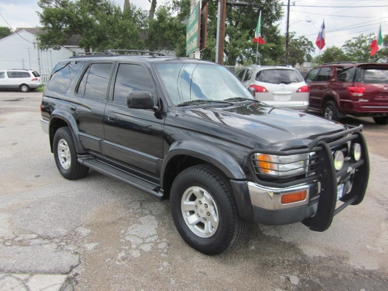 1997 Toyota 4Runner 4dr Limited 34L Auto Black Red 188876 miles Stock C7281 VIN JT3GN87R4V0