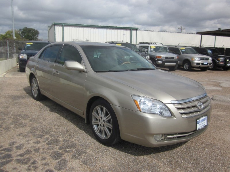 2007 Toyota Avalon 4dr Sdn Limited Gold Tan 99902 miles Stock 7322 VIN 4T1BK36B87U232924