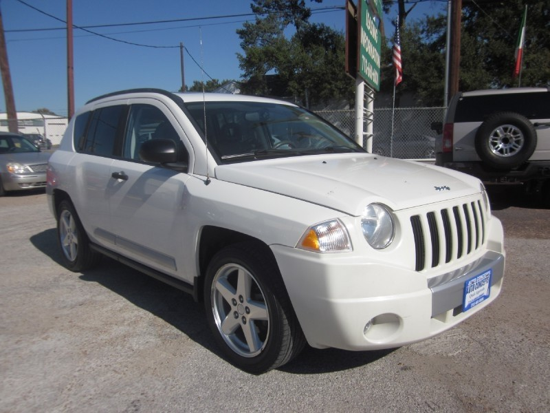 2007 Jeep Compass 2WD 4dr Limited White Tan 89719 miles Stock 7374 VIN 1J8FT57W37D200441