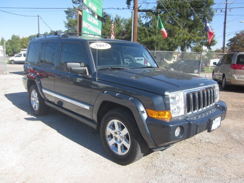 2007 Jeep Commander 2WD 4dr Limited Gray Brown 78962 miles Stock 7349 VIN 1J8HH58267C530845
