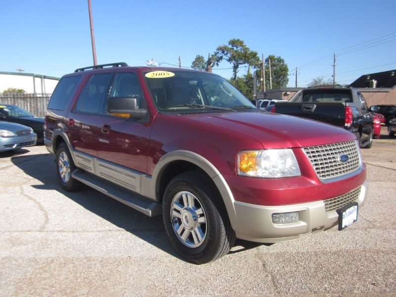 2005 Ford Expedition 54L Eddie Bauer Red Tan 150483 miles Stock 7098A VIN 1FMPU175X5LB08346