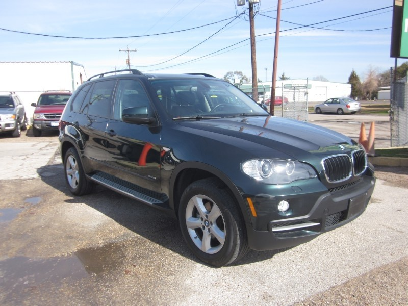 2007 BMW X5 AWD 4dr 30si Green Brown 54923 miles Stock 7470A VIN 5UXFE43547L018633