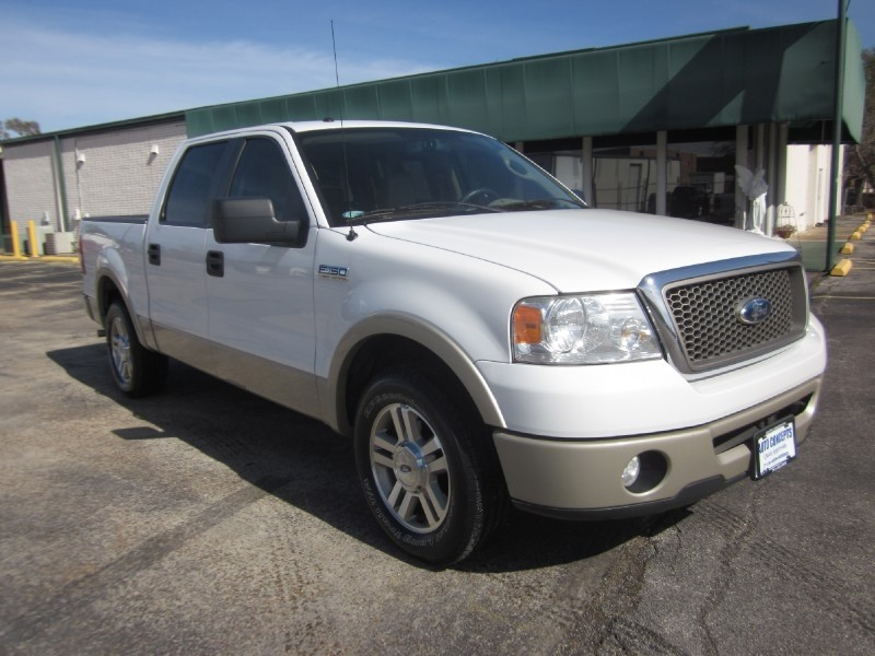 2007 Ford F-150 2WD SuperCrew 139 White Tan 125762 miles Stock 7507 VIN 1FTPW12V67KC37649