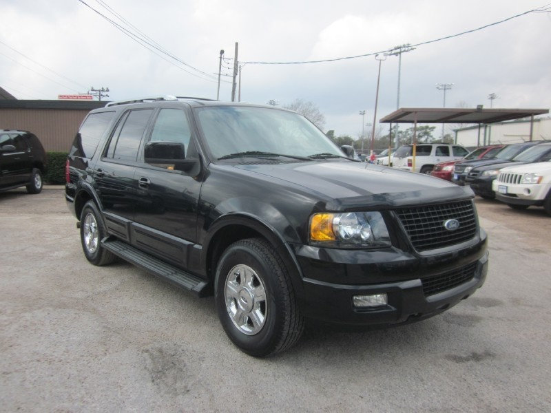 2006 Ford Expedition 4dr Limited Black Gray 93280 miles Stock 7549 VIN 1FMFU19546LA46565