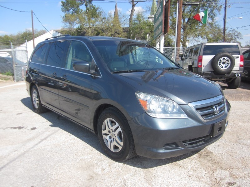 2005 Honda Odyssey EX-L AT with RES Gray Gray 178664 miles Stock R7593 VIN 5FNRL38765B090104