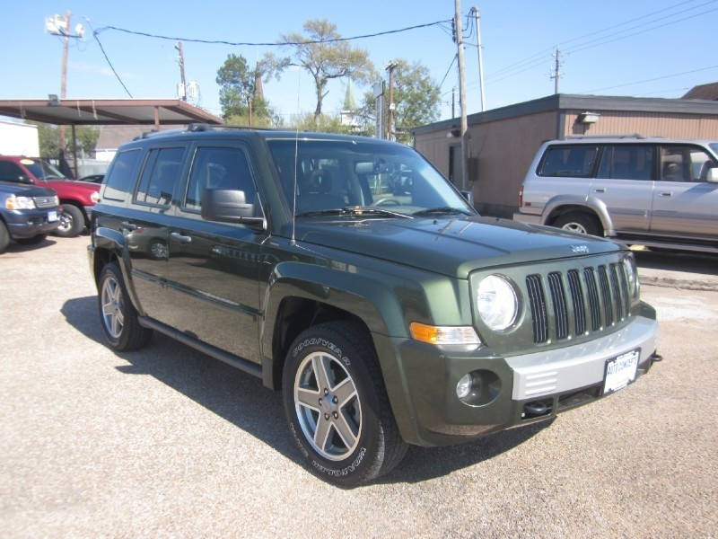 2007 Jeep Patriot 4WD 4dr Limited Green Tan 85830 miles Stock 7588 VIN 1J8FF48WX7D326117