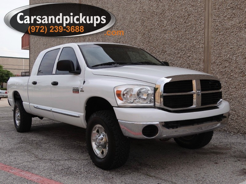 2008 Dodge Ram 2500 4WD Mega Cab 1 OwnerClean CarfaxDodge 25004x4Mega CabSXT Package