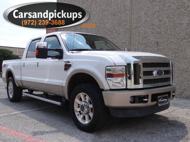 2010 Ford Super Duty F-250 King Ranch 4x4 Crew Cab King Ranch 1 OwnerClean Carfax64L Power