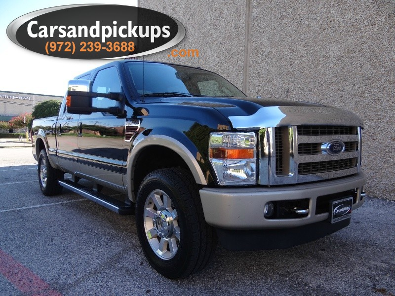2009 Ford Super Duty F-250 SRW 4WD Crew Cab King Ranch 1 OwnerCarfax Certified64L Powerstr