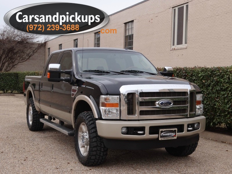 2010 Ford Super Duty F-250 SRW 4WD Crew Cab King Ranch Clean Carfax2010 Ford F-250 King Ranch
